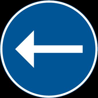 الاتجاه الاجباري الى اليسار