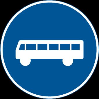 الحقل مخصص لعربات النقل العام أو الباص
