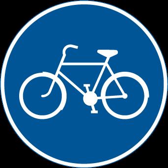 طريق الدراجات الهوائية والموبيدات الصنف 2