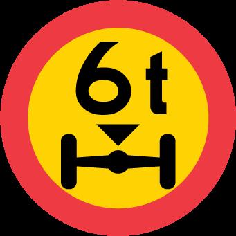 ضغط محدود على محور المركبة