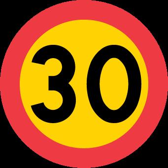 حدود السرعة محدودة