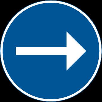 الاتجاه الاجباري الى اليمين