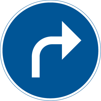 الانعطاف نحو اليمين