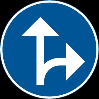 السير باتجاه الامام و الانعطاف الى اليمين