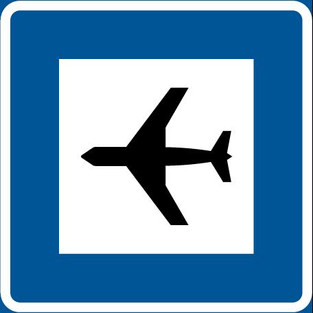 شاخصة المطار