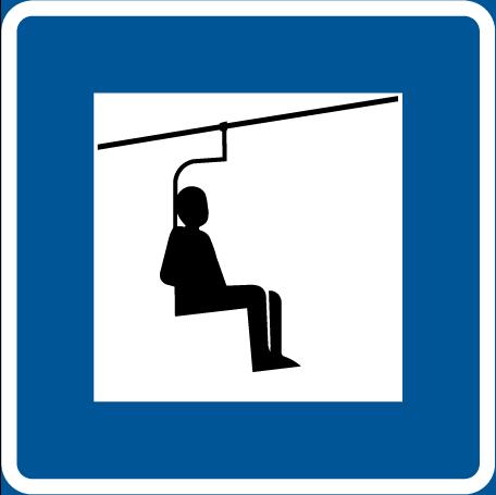 مصعد ذو مقعد ( تيلفريك )