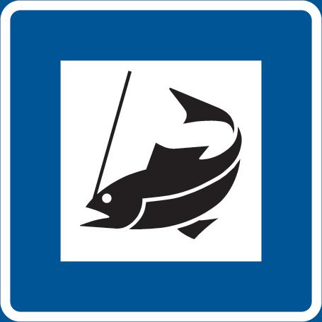 مكان أو موقع لبيع بطاقات صيد السمك
